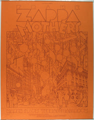 1974 Zappa and the Mothers, Terrace Ballroom *Near Mint Condition*