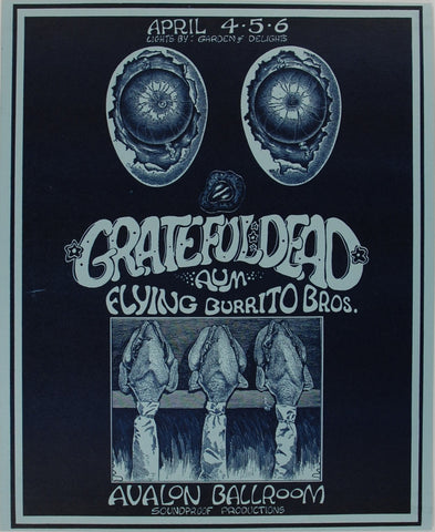 Grateful Dead, Avalon Ballroom *Mint 97*