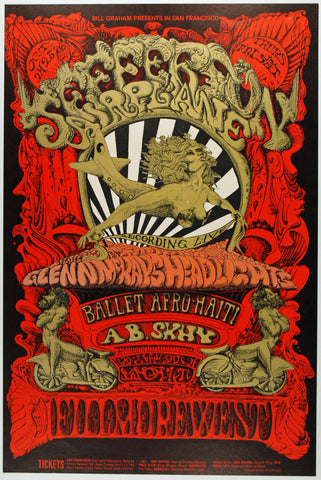 (BG-142) Jefferson Airplane, Fillmore West *Mint 97*