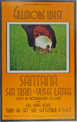 (BG-190) Santana, Fillmore West
