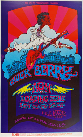 (BG-193) Chuck Berry, Fillmore West *Mint Condition*