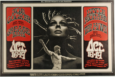 (BG-196) Joe Cocker & His Grease Band, Fillmore West