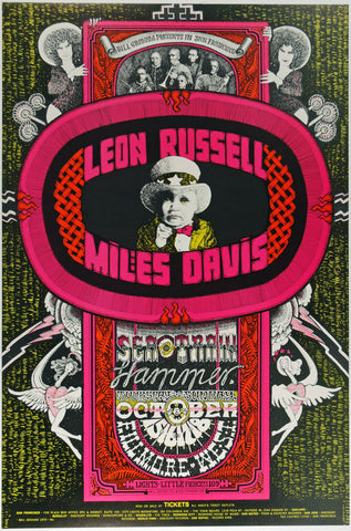(BG-252) Leon Russell, Fillmore West *Mint Condition*