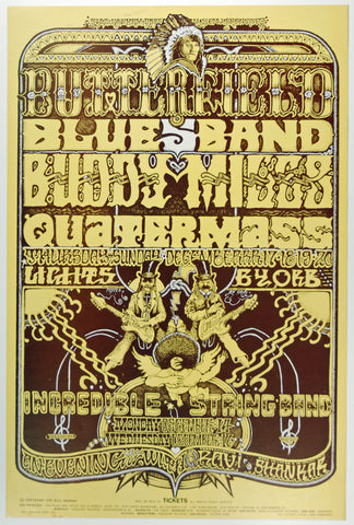 (BG-261) Incredible String Band, Fillmore West