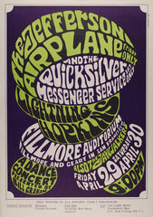 (BG-04) Jefferson Airplane, Fillmore Auditorium *Mint Condition*
