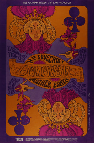 (BG-94)Donovan, Fillmore Auditorium and Winterland,*Mint Condition*