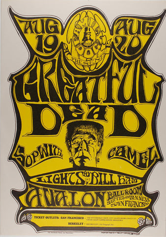 (FD-22) Grateful Dead, Avalon Ballroom *Mint Condition*