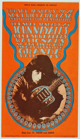 John Mayall's Bluesbreakers, Grande Ballroom *Mint Condition*