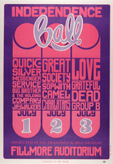 (BG-14) Quicksilver Messenger Service, Fillmore Auditorium *Mint Condition*