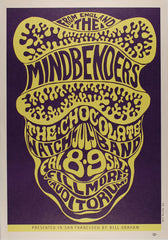 (BG-16) Mindbenders, Fillmore Auditorium *Mint Condition*