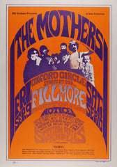 (BG-27) The Mothers, Fillmore Auditorium *Mint Condition*