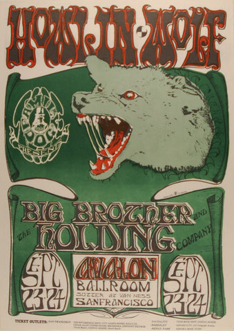 (FD-27) Howlin' Wolf, Avalon Ballroom *Mint Condition*