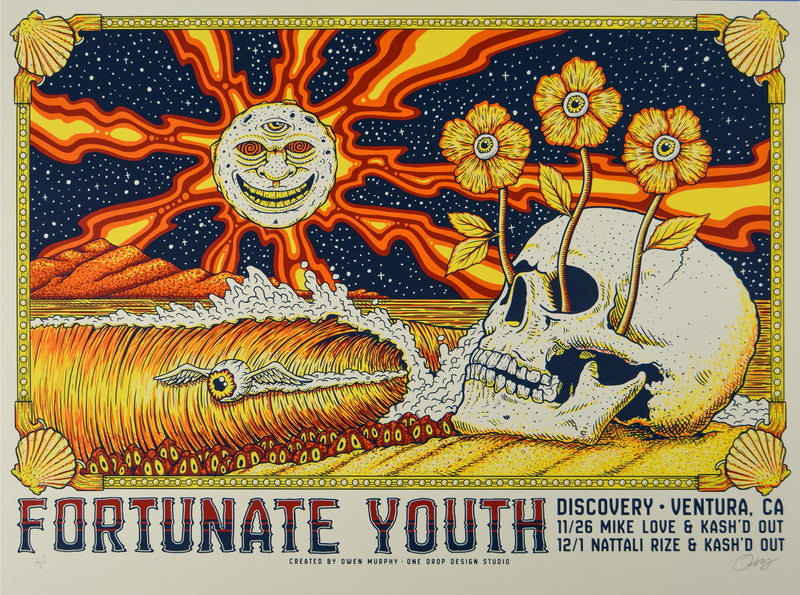 Fortunate Youth (White Wash AP)<br> Discovery- Ventura, CA- 11/26 & 12/1/2019