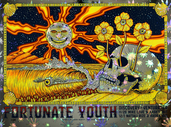 Fortunate Youth (Canna Foil)<br> Discovery- Ventura, CA- 11/26 & 12/1/2019
