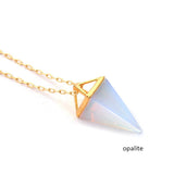 Healing Crystal Gemstone Necklace