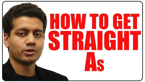 How to Get Straight As in College and High School
