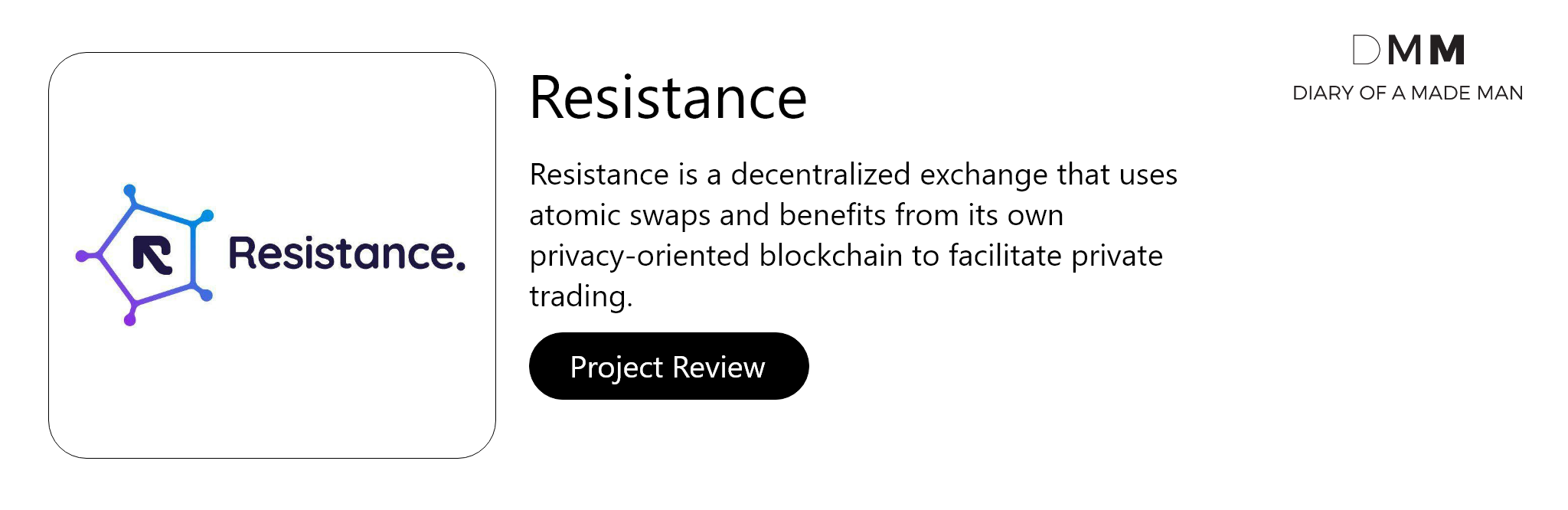 resistance ico review inside