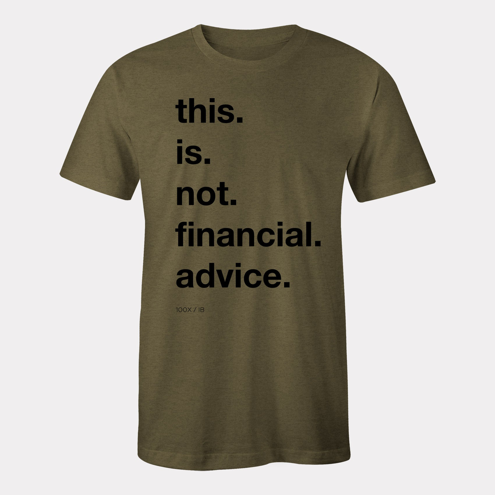 not financial advice gear