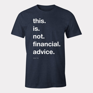 not financial advice apparel