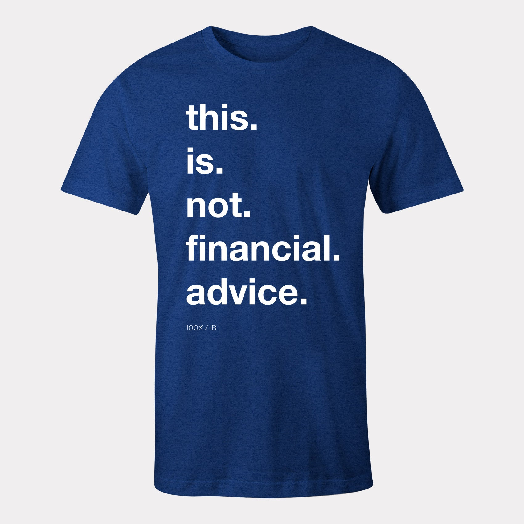 not financial advice clothing