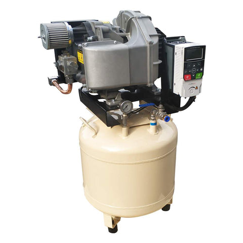 Image of Variable Speed drive Oil Free Scroll Air Compressor 230V/60Hz/1PH  10gal service for vacuum pumps and Air conditioner compressor(shipping free)