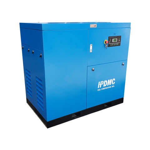 Image of 30HP Rotary Screw Air Compressor 125CFM@125PSI 460V/60Hz/3PH FM Variable Speed Drive-SC22-FMVSD HPDMC