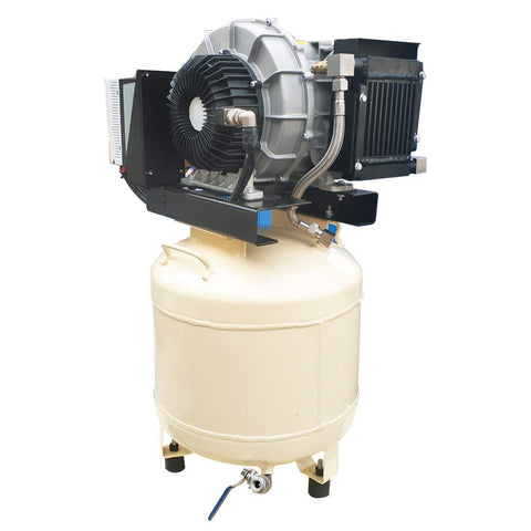 Variable Speed drive Oil Free Scroll Air Compressor 230V/60Hz/1PH  10gal service for vacuum pumps and Air conditioner compressor(shipping free)