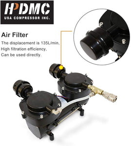 HPDMC Hookah Diving Compressor 115psi 5cfm