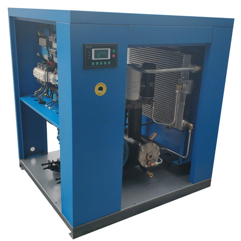 Image of 20HP Rotary Screw Air Compressor 81CFM@125PSI 230V/60Hz/3PH-PACK15 HPDMC