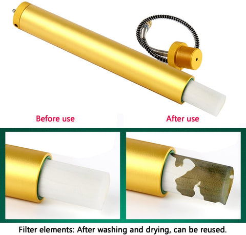 Filter element  for replacement for 4500 psi PCP Compressor