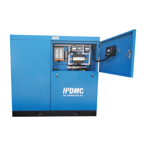 30HP Rotary Screw Air Compressor 125CFM@125PSI 230V/460V/3PH-SC22A/230V/460V HPDMC