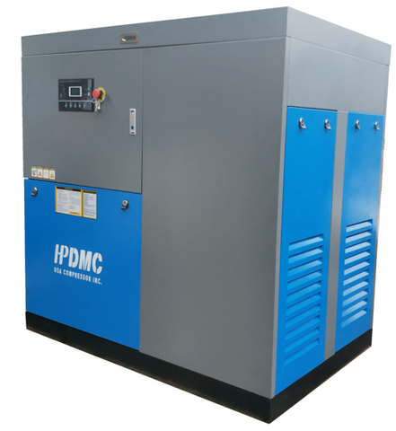 50HP VFD 219CFM 125PSI 460V/60Hz 3PH Rotary Screw Air Compressor SC37V/460V Variable Frequency Drive