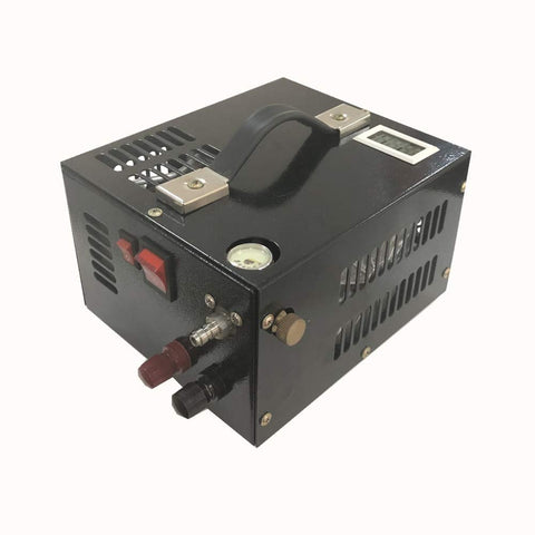 Image of Protable PCP Air Compressor - 12V / 280W - 0.7 Less CFM @ 30Mpa / 4500psi - Powered by Car 12V DC - Paintball/Scuba Tank Compressor-SCU10 free shipping