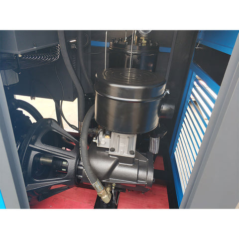 Image of 75HP 350cfm@125 psi Rotary Screw Air Compressor dual 230V/460V/60Hz 3-Phase/Built-in Oil Separator-SC55/230V/460V