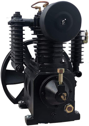 Image of 5.5HP Piston 2Stage Replacement Air Compressor Pump14.8CFM 180PSI-DL1105T HPDMC