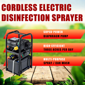 Commercial Protable 12-Volt Cordless Electric Disinfection Spray (Without Include Battery) for Shop / Farm / Yard