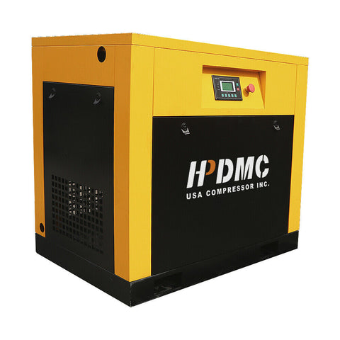 29cfm 7.5HP VSD 230V Rotary Screw Air Compressor @125psi 230V/60Hz/1PH Variable Speed Drive-DAC5V(230V)