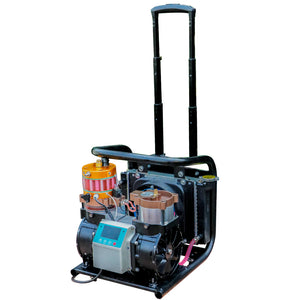 HPDMC Oil-Free Air Compressor - 1.5 KW - 110v / 60Hz - 2.5cfm @ 4500 Psi(Max 6000 Psi) - Scuba Tank/PCP Rife/Paintball Air Gun Filling Station(free shipping)