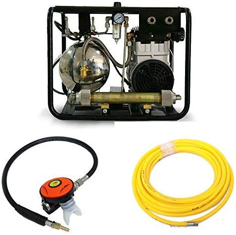 Image of 3.5cfm 125psi Hookah Diving Compressor 110V/60Hz-SCU80E HPDMC