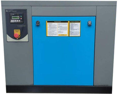 HPDMC Rotary Screw Air Compressor 10HP / 7.5KW 39-35 cfm 125-150 psi 230V / 60Hz 3-Phase Spin-on Air Oil Separator for Auto Repair, Aviation, Metallurgical