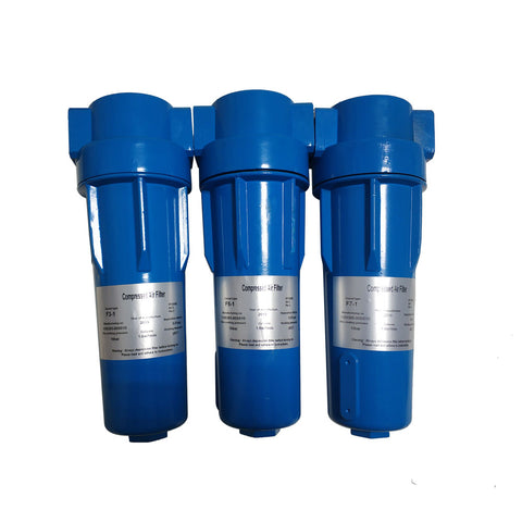 "HPDMC 91cfm/NPT 1""/ 0.1 micron Air Compressor Accessories Compressed air Precision Filter Dryer"