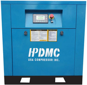 flea-market-supply,HPDMC 5.5HP Variable Speed Drive Rotary Screw Air Compressor 19-15cfm@125-150psi 230V/60Hz / Single Phase Direct driven/Built-in Oil Separator,Flea Market Supply,