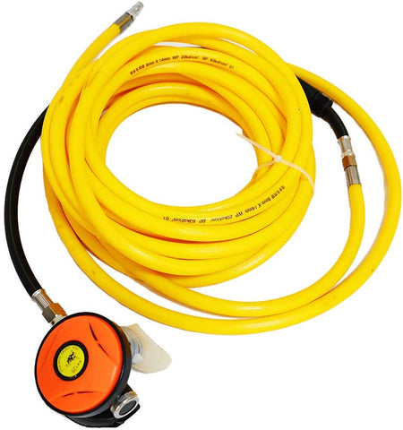 flea-market-supply,HPDMC 100ft PVC Air Hose and 145PSI Scuba Diving Regulator,Octopus Hookah with Mouthpiece,Free Flow Resistant,M10×1,Mr Air Compressor,