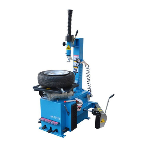 "Image of Semi-automatic car tire changer auto tire demounting machine 22""rim tyre changing machine with swing arm-AA-TC112(FREE SHIPPING)"