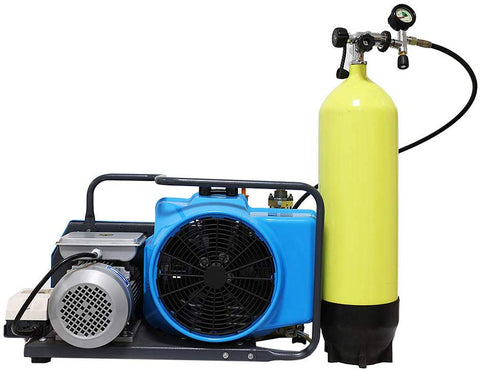 Image of 5.5cfm Electric Scuba Diving Compressor 4500psi 220V/60Hz-SCU150