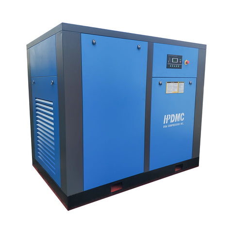 Image of 75HP Rotary Screw Air Compressor 350cfm@125psi 230V/60Hz/3PH/Built-in Oil Separator-SC55 HPDMC