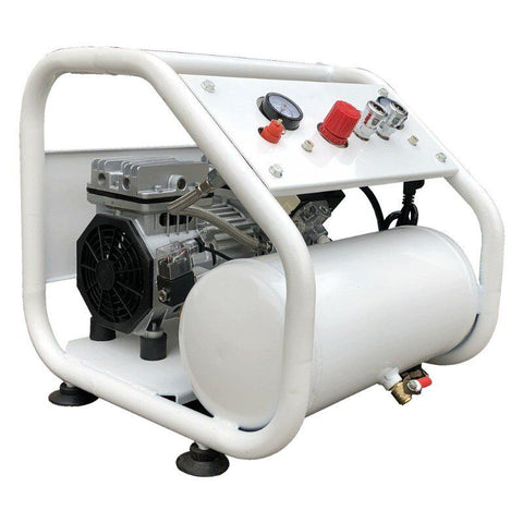 Image of 4cfm 115psi Ultra Quiet & Oil-Free Air Compressor 110V/60HZ/1ph-AWR601-7.6LM2 HPDMC