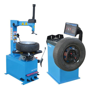 1.5HP Tire Changers Wheel Balancers Combo Semi-Automatic Rim Clamp Disassembly-950-680 COMBO(SHIPPING FREE)