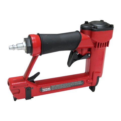 Image of HPDMC Air powered Nail Gun - 22 Gauge (0.75 X 0.55 mm)- AIR INLET: 1/4''NPT- 60 - 110 PSI (4-7 BAR)- 157pcs staples Included