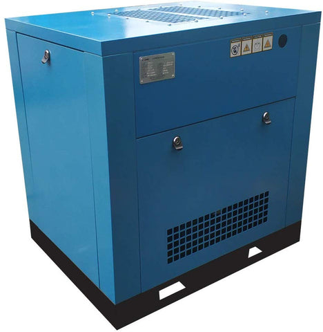 Image of flea-market-supply,HPDMC 5.5HP Variable Speed Drive Rotary Screw Air Compressor 19-15cfm@125-150psi 230V/60Hz / Single Phase Direct driven/Built-in Oil Separator,Flea Market Supply,